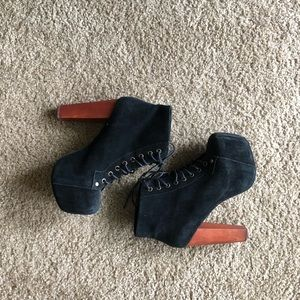 Jeffrey Campbell Lita Booties!